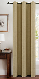 Linen Total Blackout Curtains