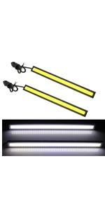 4PCS DRL Led Strip Daytime Running Light