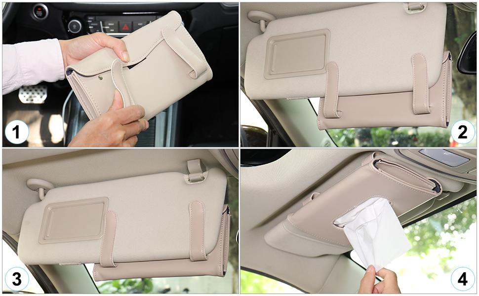 napkin holder for car