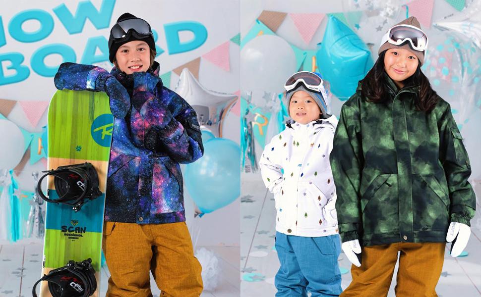 サイズ スノーウェア スノボウェア スキーウェア ウエア 子供用 スノボーウェア 19-20 新作 スノボ ウェア スキー ウェア ジャケット パンツ 滑雪服