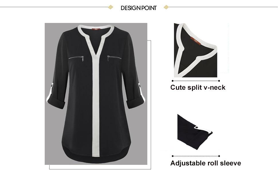 women ladies work tops blouse shirt for leggings