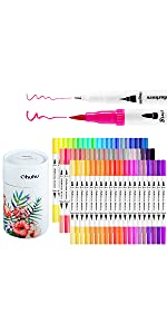 60 Colors Dual Tip Art Marker