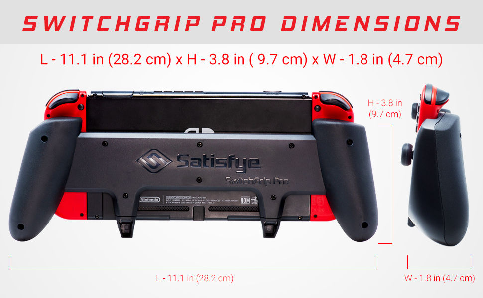 switchgrip pro dimensions