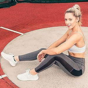 Mio Yoga Pants for Women, High Waist, Tummy Control, Workout Pants, 4 Way Stretch Sports Leggings, Pocket