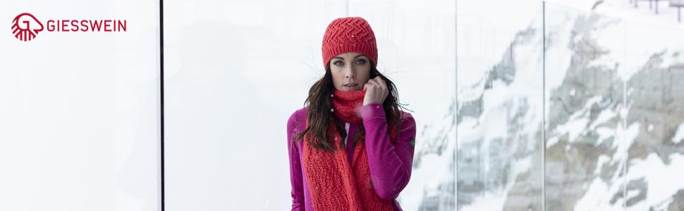 Gorro de lana de merino para mujer, con forro de punto, cálido gorro de invierno para hombre y mujer