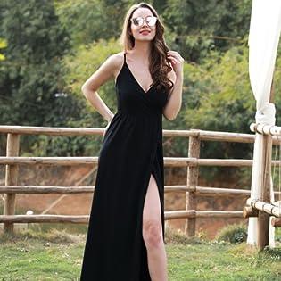 V-Neck Casual Dress