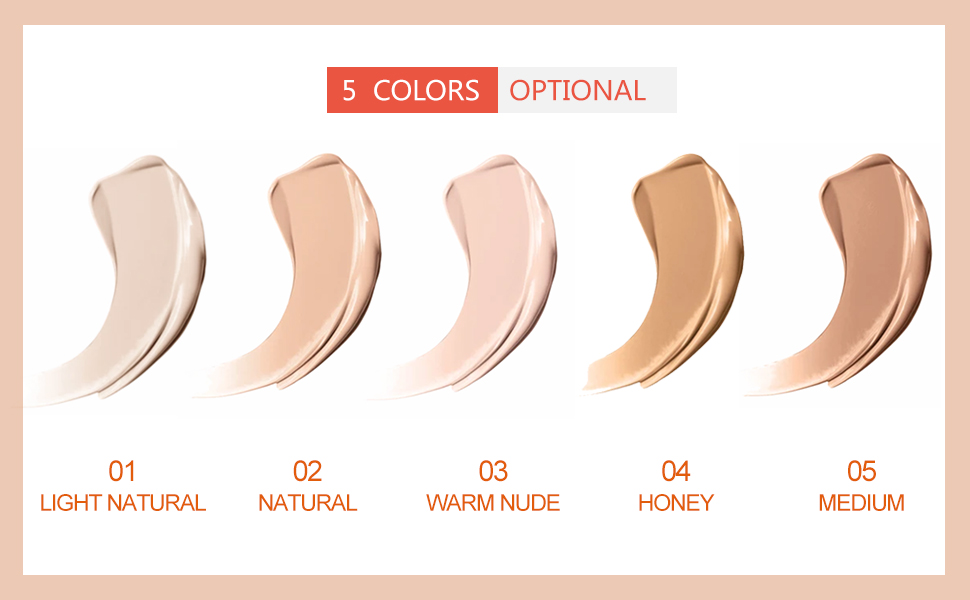 All over cover concealer liquid corrector cream full cover long lasting lightweight smooth texture