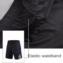 Boys Youth Basketball Shorts Athletic Pants Running Workout Training Active Sportswear with Pockets