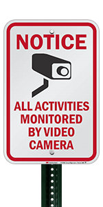 Notice All Activities Monitored