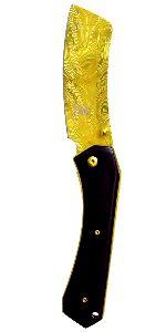 "8"" TiN Coated Cleaver Folding Knife"