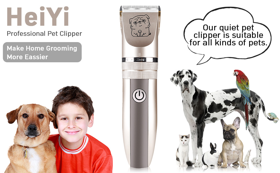 cordless dog hair clippers