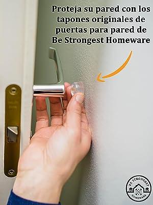 door stop bumpers Protegen sus paredes 12 topes de puerta Topes de puerta para pared doorstopper