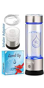 H2 Water Bottle - Silver