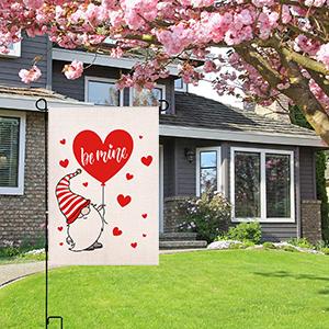 Valentine's day Garden Flag