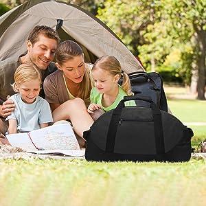 Duffle bag for family