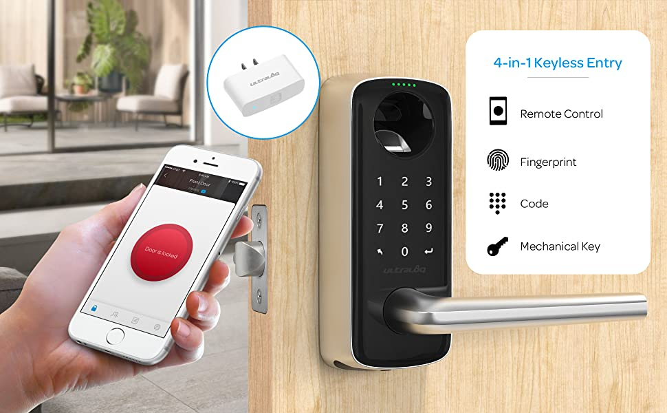 keyless entry door lock combination lock keypad lock