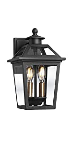 Outdoor Wall Light | Exterior Wall Mount Lantern | Wall Sconce | Wall Lamp