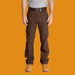 Berne Acre Washed Duck Carpenter Pant construction work wear product shot