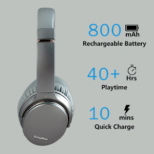 1  Noise Cancelling Headphones Wireless Bluetooth 5.0,Fast Charge Over-Ear Lightweight Srhythm NC35 Headset with Microphones,Mega Bass 40+ Hours' Playtime -Low Latency 0ad08aa8 df4e 4c9c 948f cb0b9875f486