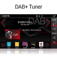 Z-N965 mit DAB+ Tuner für Digitalradioempfang