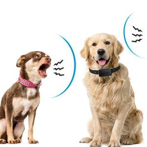 pet gentle bark control waterproof dog bark collar anti bark collar shock collar for small dogs