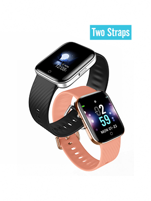 maxtop Smart Watch with Curved Screen - Waterproof Health Watch for Android/iOS Phone with All Day Heart Rate Monitoring and Alarm, Sleep Mornitoring ...