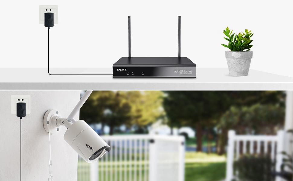 HOME Survelliance Camera System Wireless