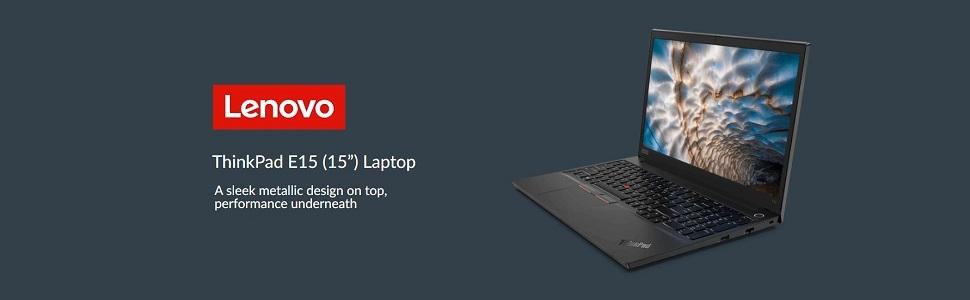 Lenovo ThinkPad E15 Banner