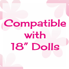 fits 18 inch dolls