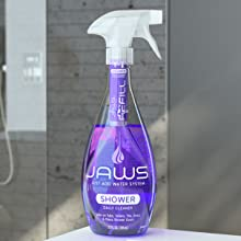jaws shower cleaner, daily shower cleaner, nontoxic bathroom clean