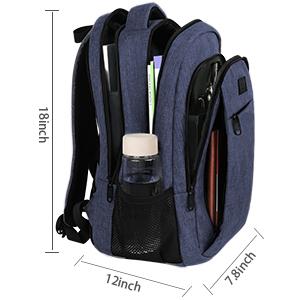 MATEIN sac à dos scolaire cartable pour hommes femmes