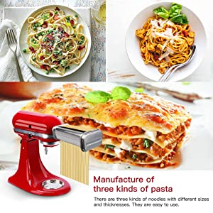 3 Kinds of Pasta