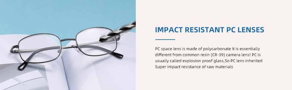 IMPACT RESISTANT PC LENSES