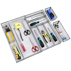 large kitchen utensil drawer organizer
