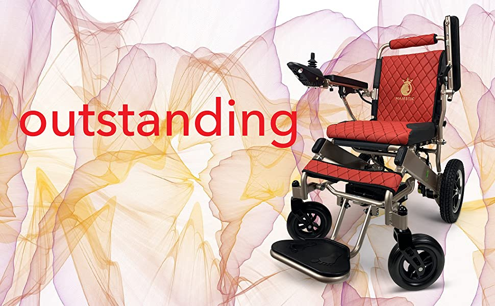 Electric Wheelchair Wheelchairs Powered Mobility Aid Comfy Go ComfyGo