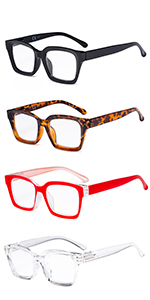 Oprah Style 4 Pairs Reading Glasses Women