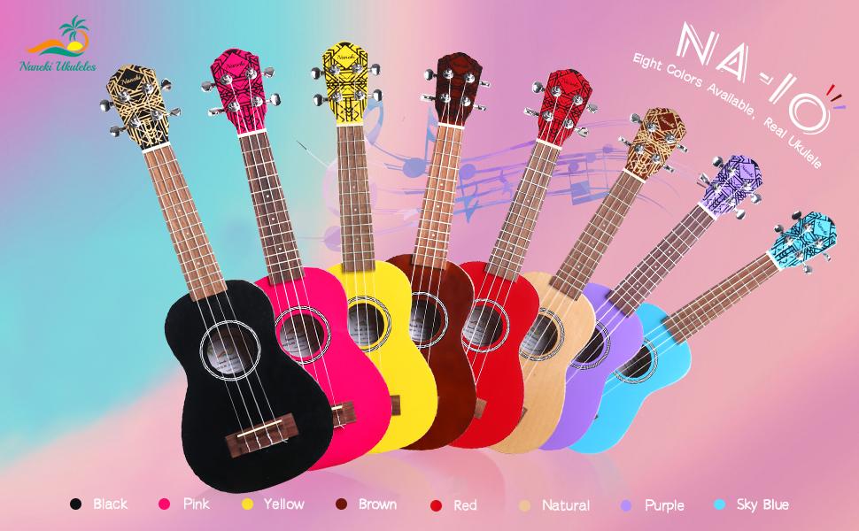 ukulele purple kids guitar soprano