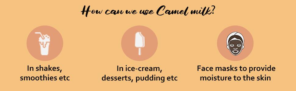 Camel Milk Use