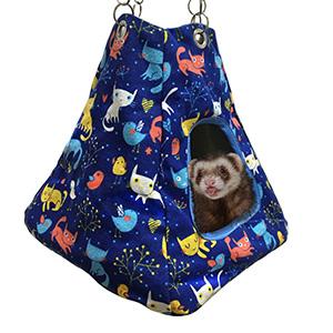 Ferret Rat Guinea Pig Degu Gerbil Mice Hamster Chincilla Hammock Sleeper Cage Accessories