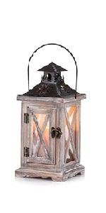 wooden candle holder lanterns