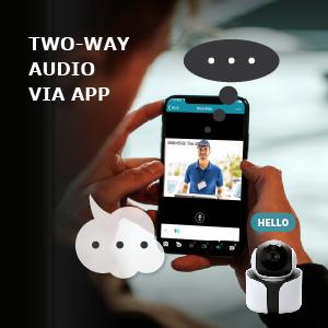 avtech, ygn2003a, two-way audio, talk via app