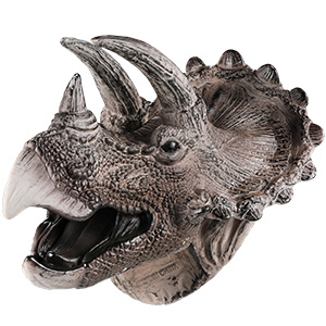 Triceratops toys puppets for kids