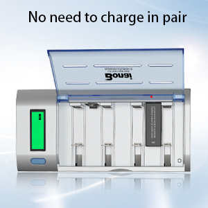 aaa,aa,c,d universal battery charger