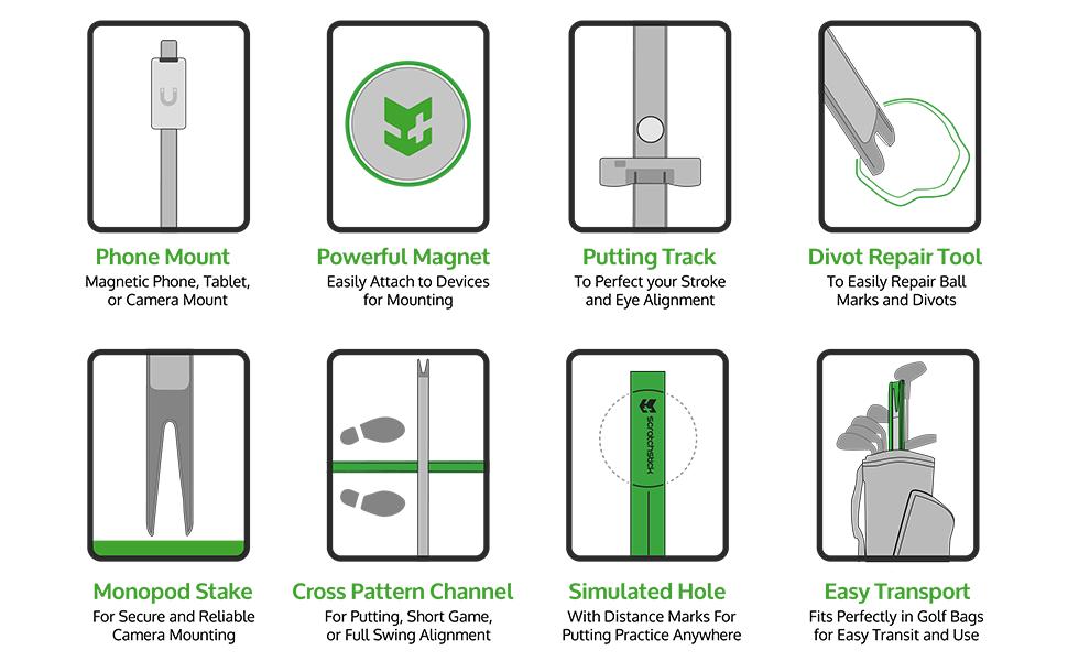 Scratch Stick Features