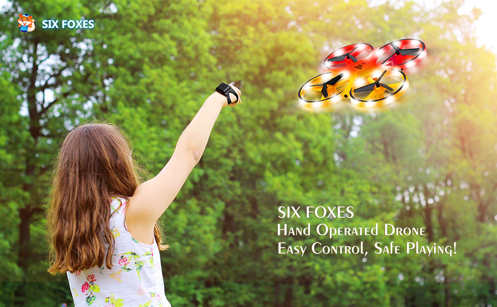 hand operated drone for kids