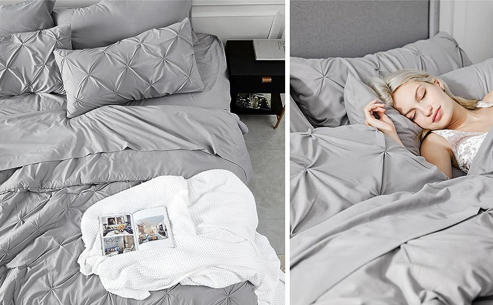 bedsure | queen comforter set