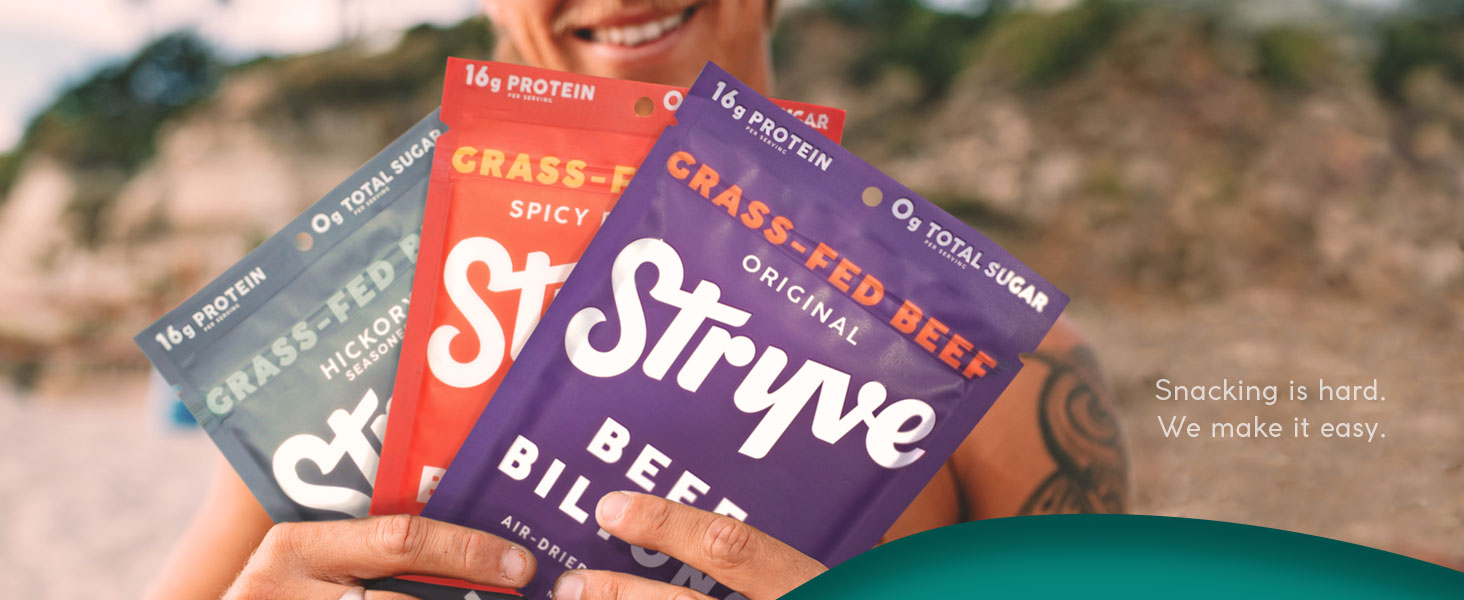 grass fed beef biltong jerky no antibiotics hormones preservatives sugar free carb high protein