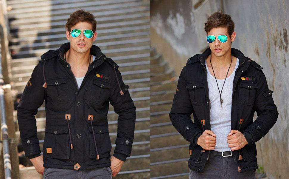 Mens casual bomber jackets