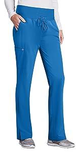 model wearing Barco ONE Women's Stride Pant (5206)