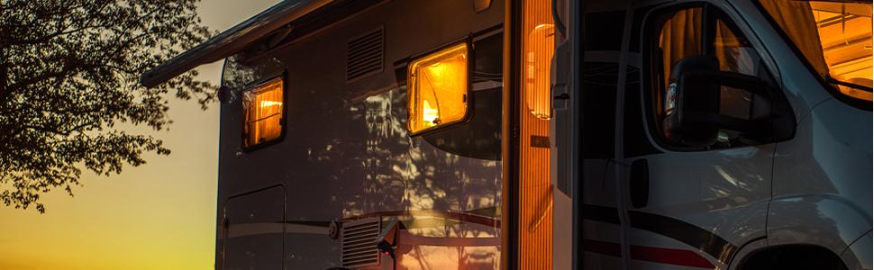 Obeaming RV boat LED ceiling light Reading lamp 12V 24V dimmer switch